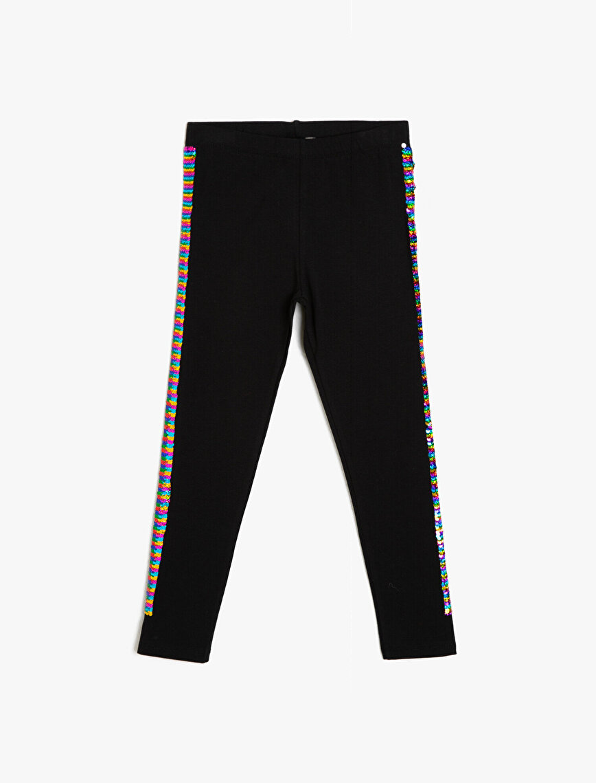 Sequin Detailed Leggings