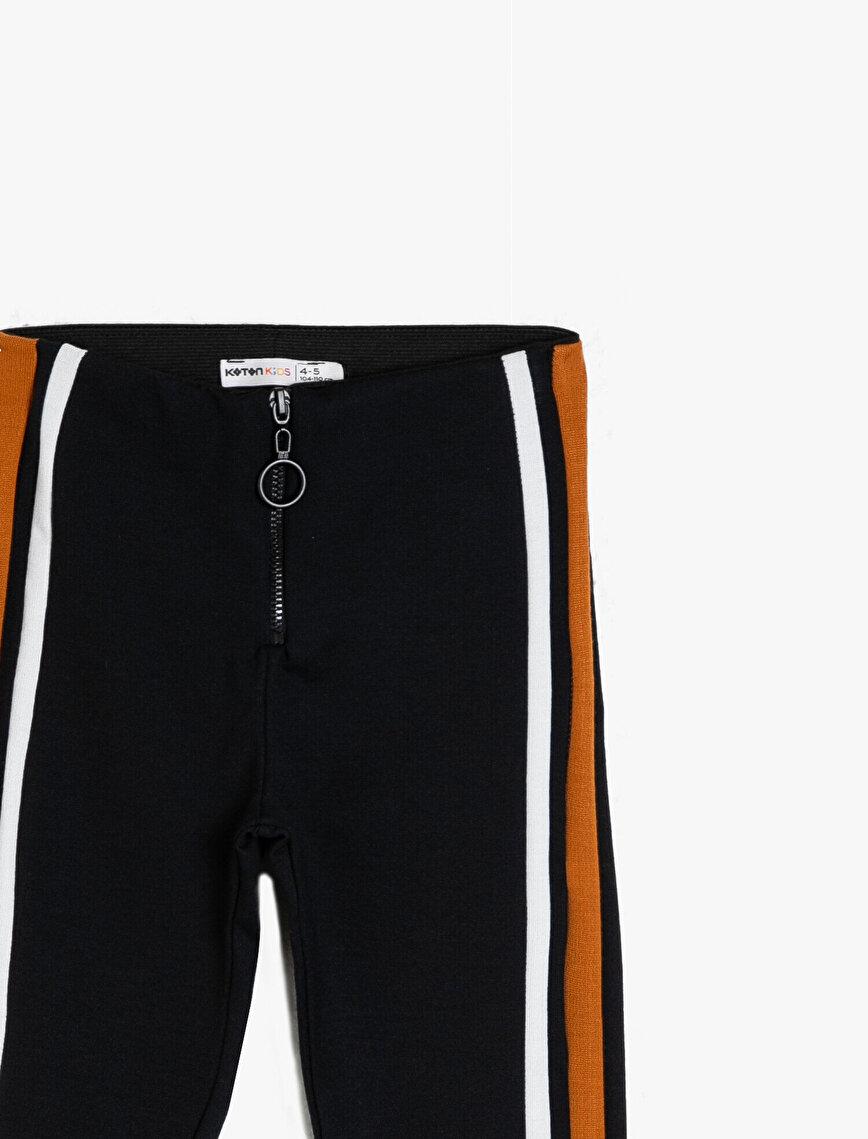 Banded Detailed Legging