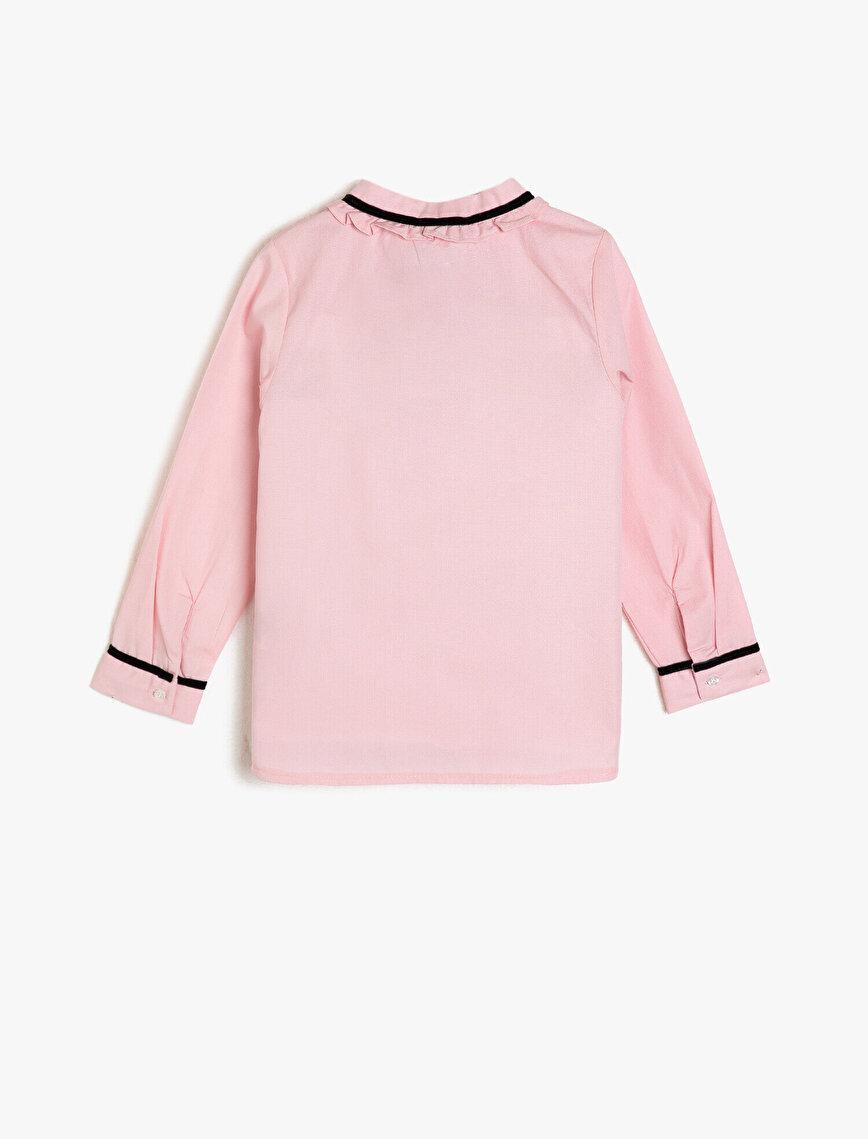 Frill Detailed Shirt