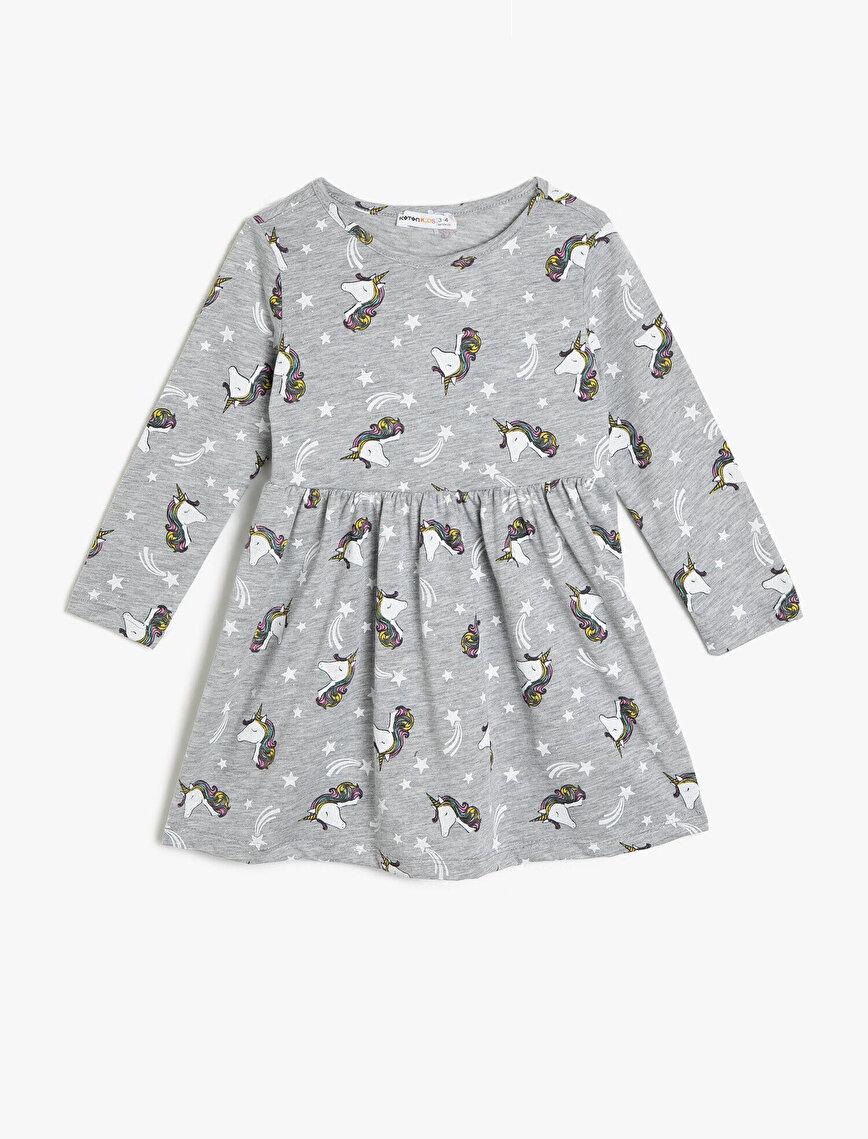 Baskılı Elbise