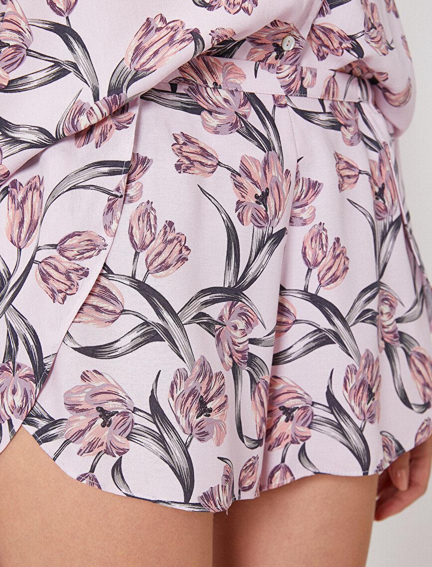 Floral Patterned Pyjama Bottom