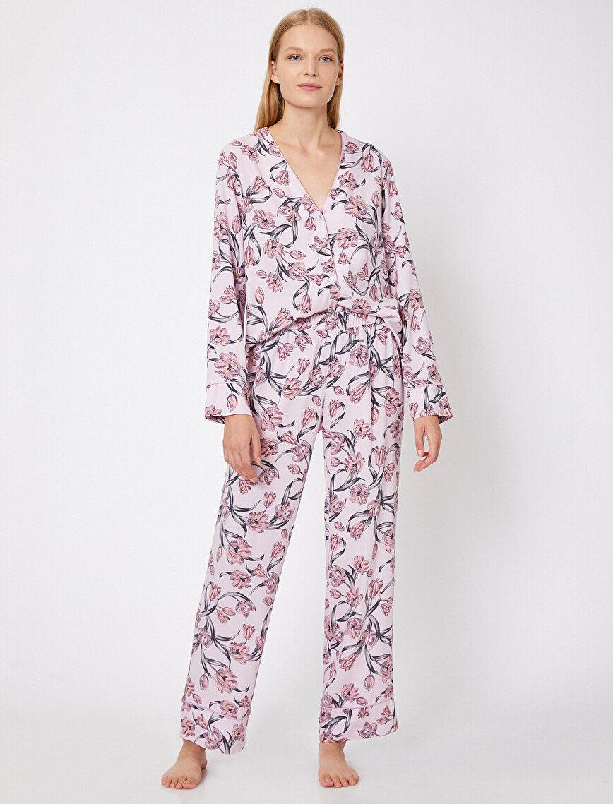 Patterned Pyjama Bottom