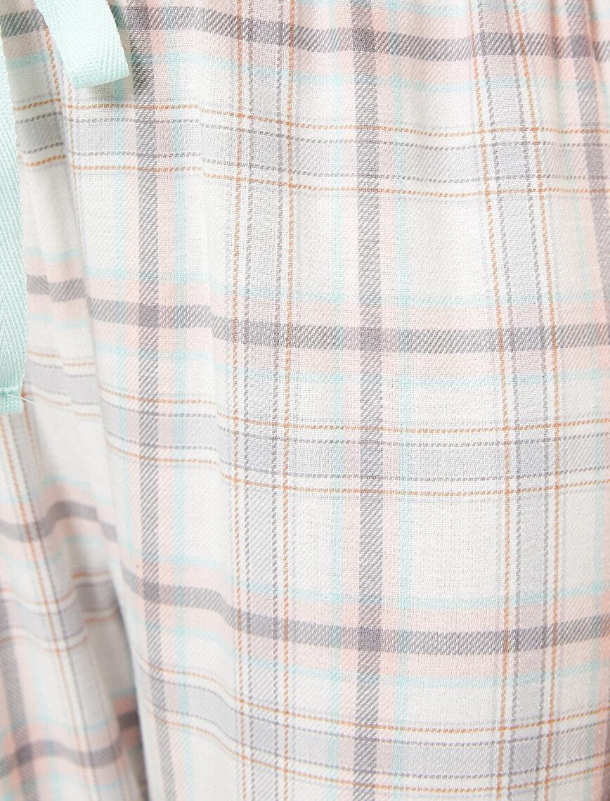 Kareli Pijama Altı