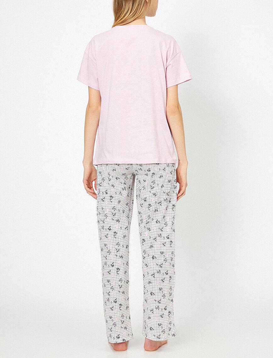 Powerpuff Girls Lisanslı Baskılı Pijama Takımı