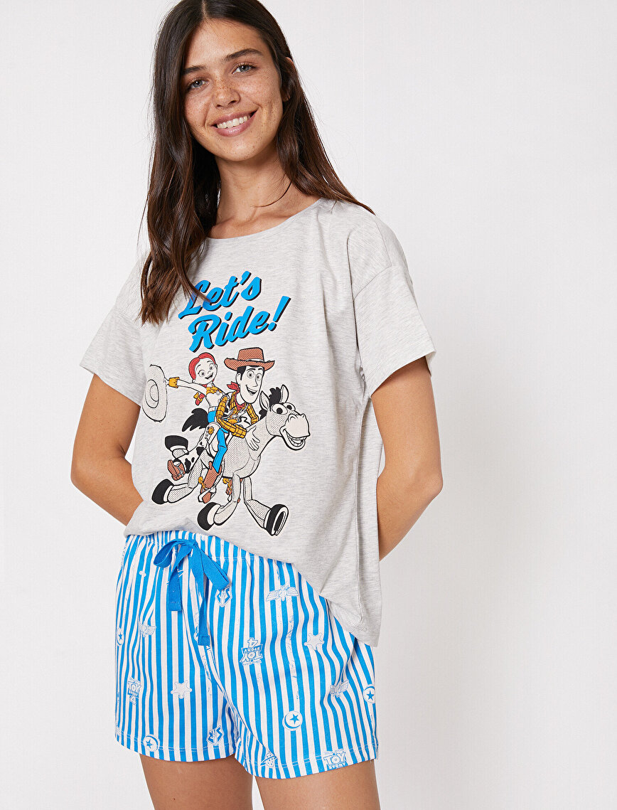 Disney Licenced Letter Printed Pyjama Sets