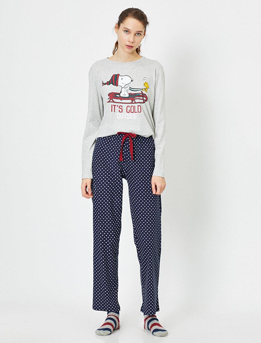 Letter Printed Pyjama Sets