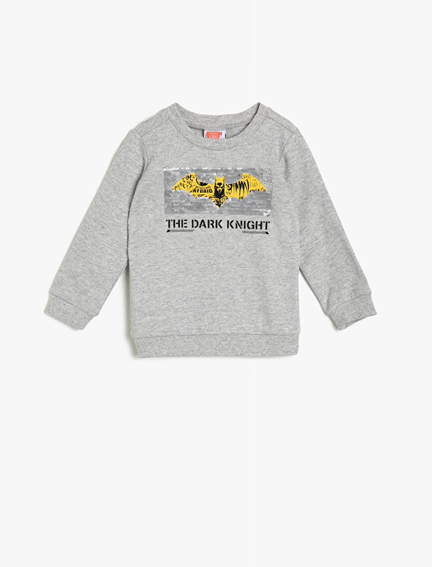 Batman Licensed Printed Sweatshirt
