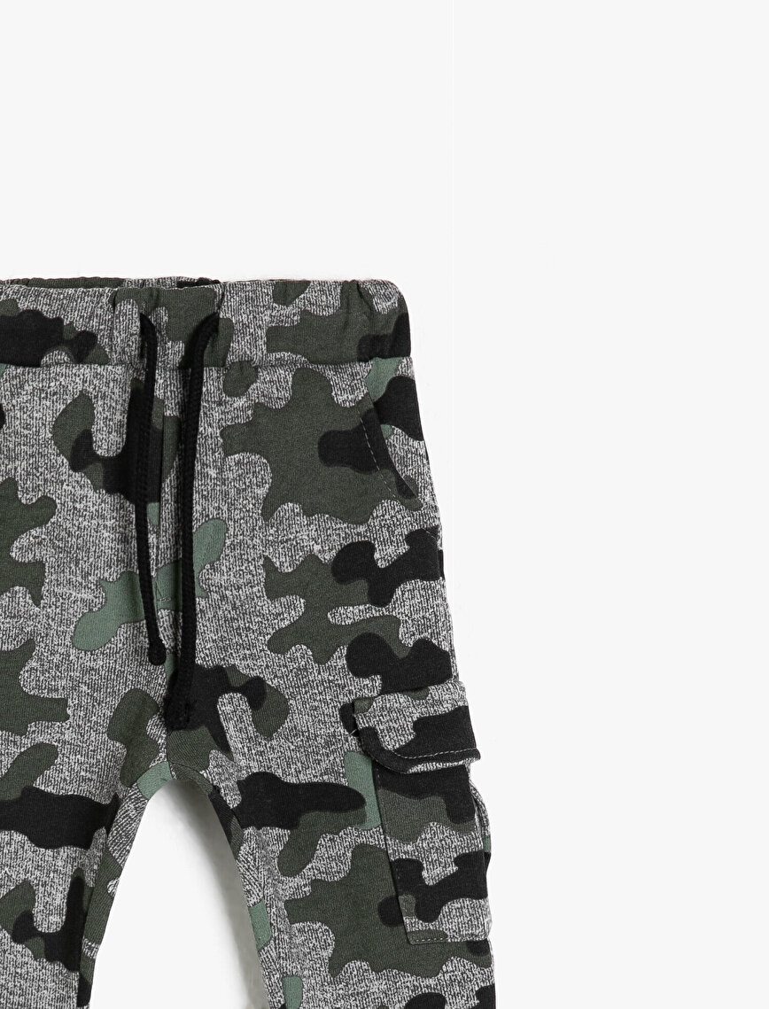 Camouflage Patterned Joggings Pants
