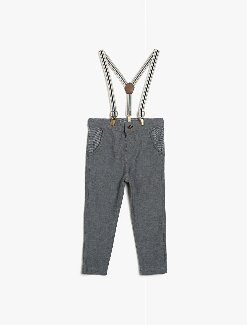 Belt Detailed Trousers