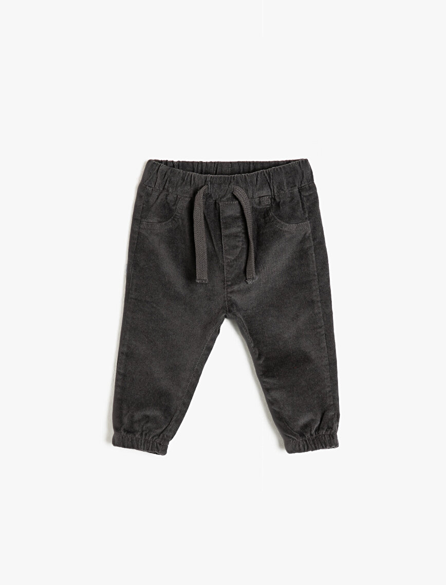 Tie Waist Trousers