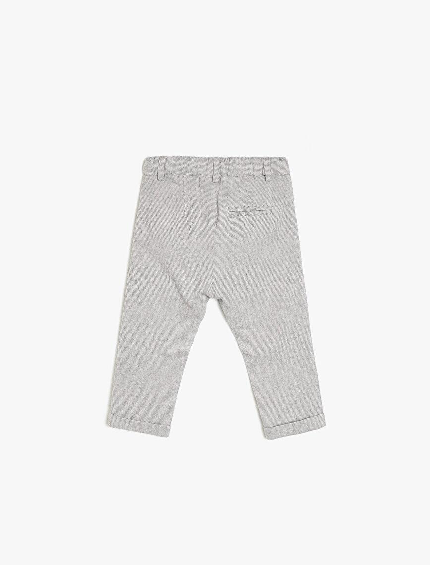 Beli Bağlamalı Pantolon