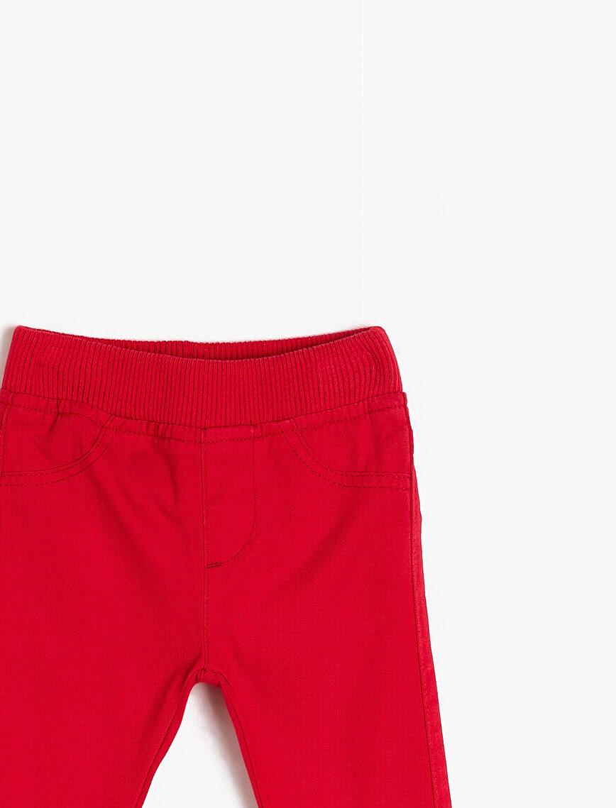 Rahat Kesim Pantolon