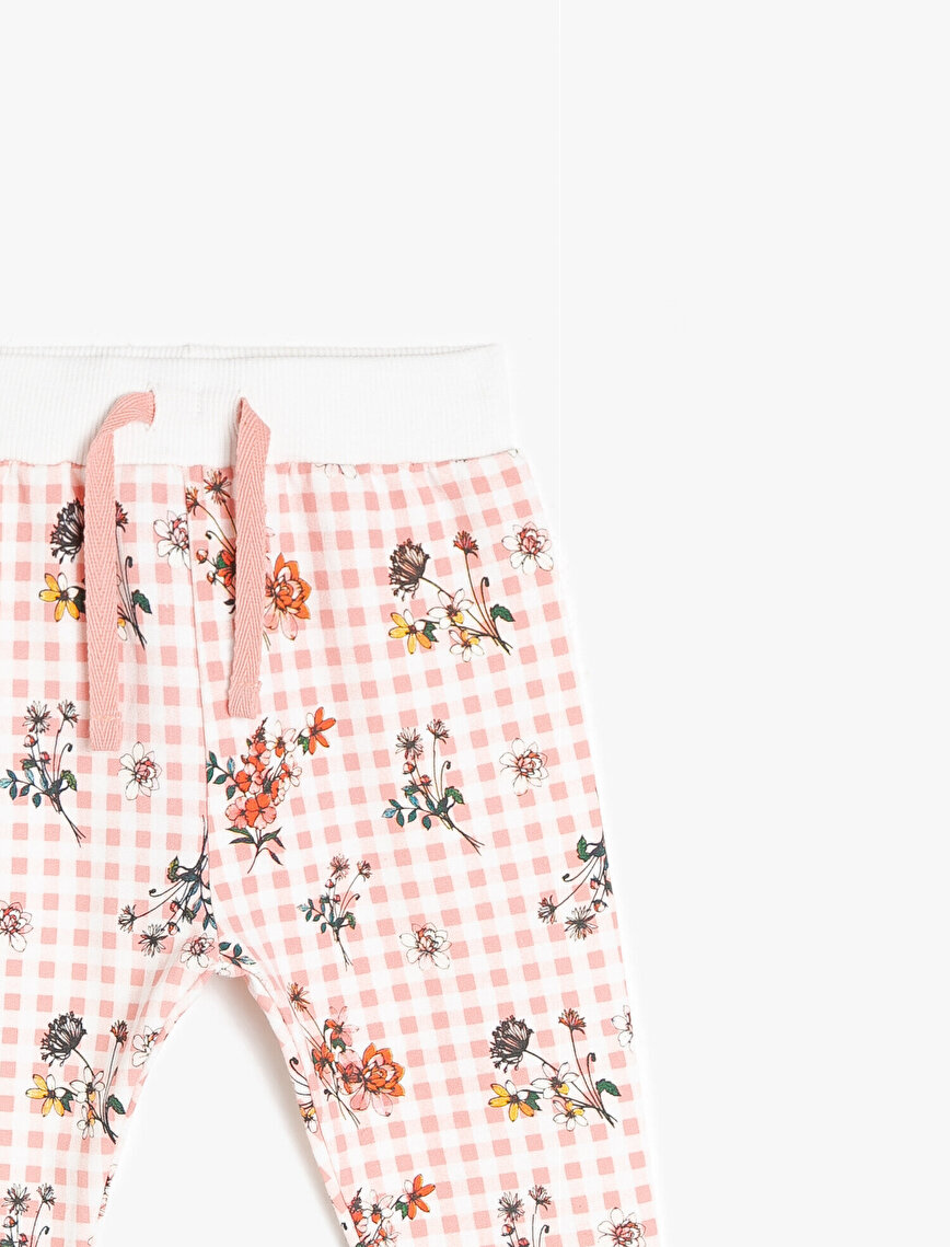 Patterned Jogging Pant