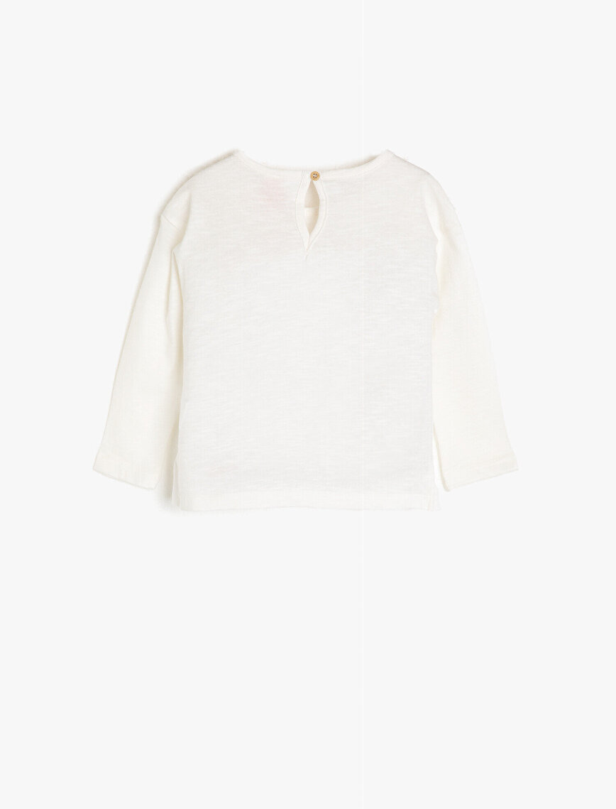 Dantel Detaylı T-Shirt