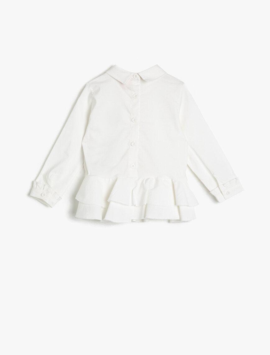 Taş Detaylı Bluz