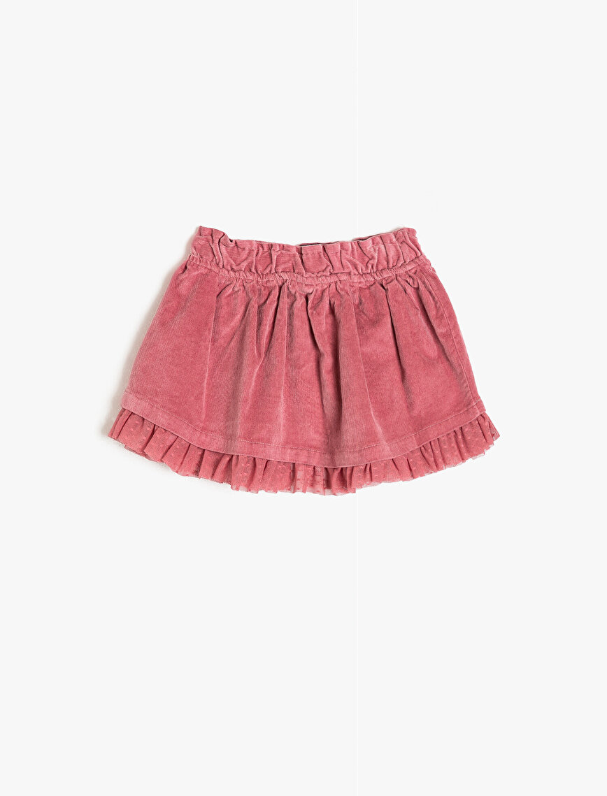 Frill Detailed Skirt