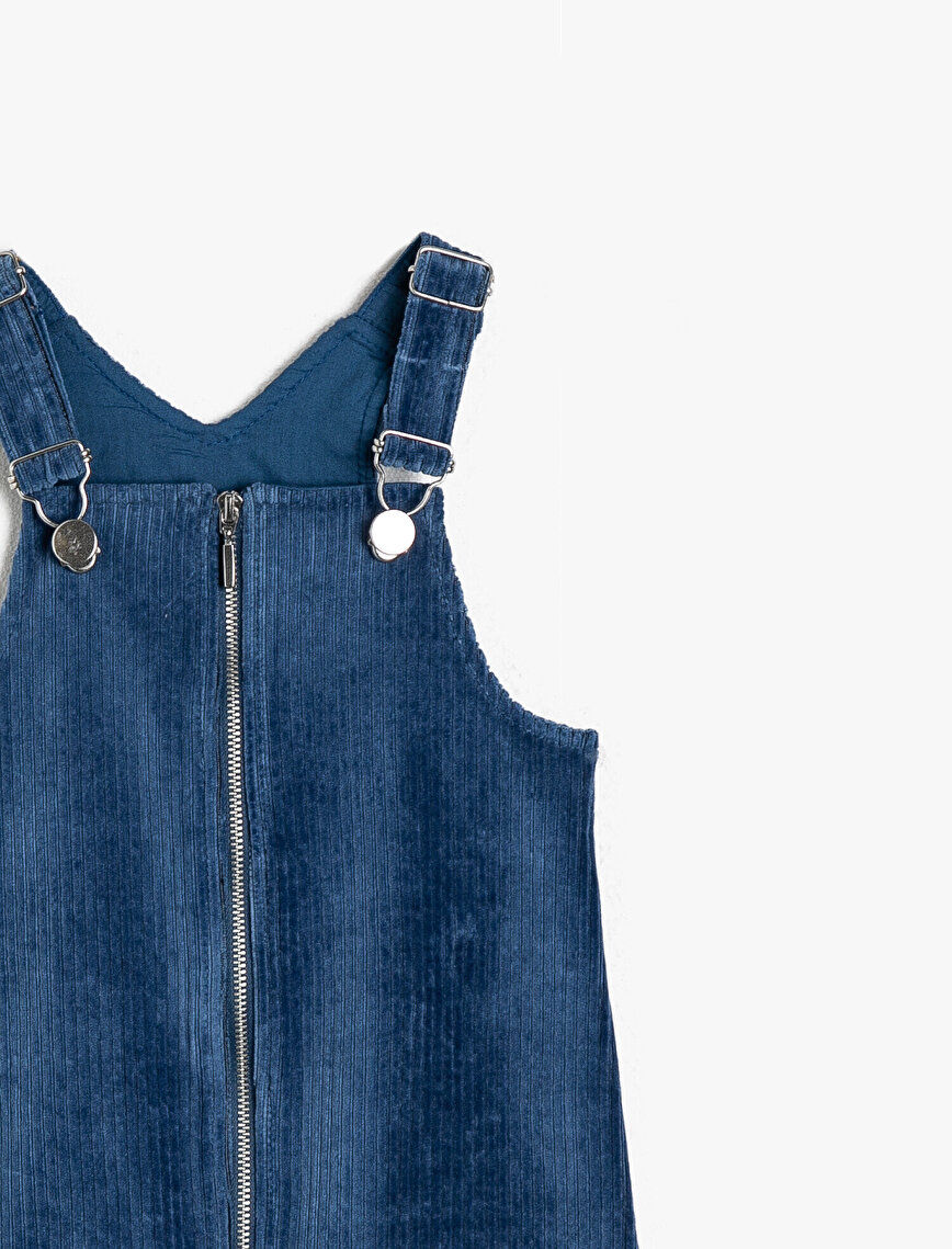 Fermuar Detaylı Elbise
