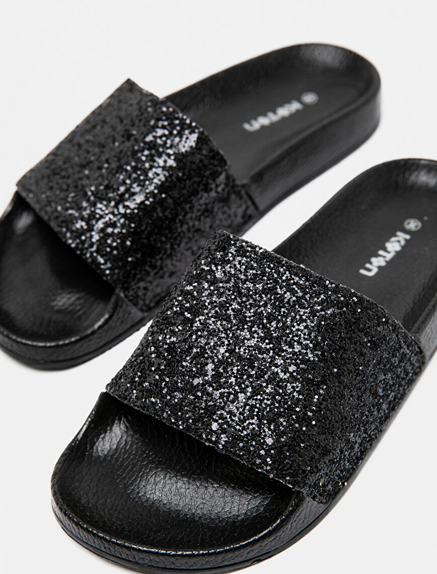 Shimmer Detailed Slipper