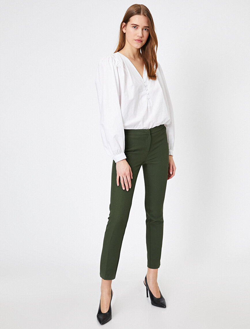Cepli Basic Kumaş Pantolon
