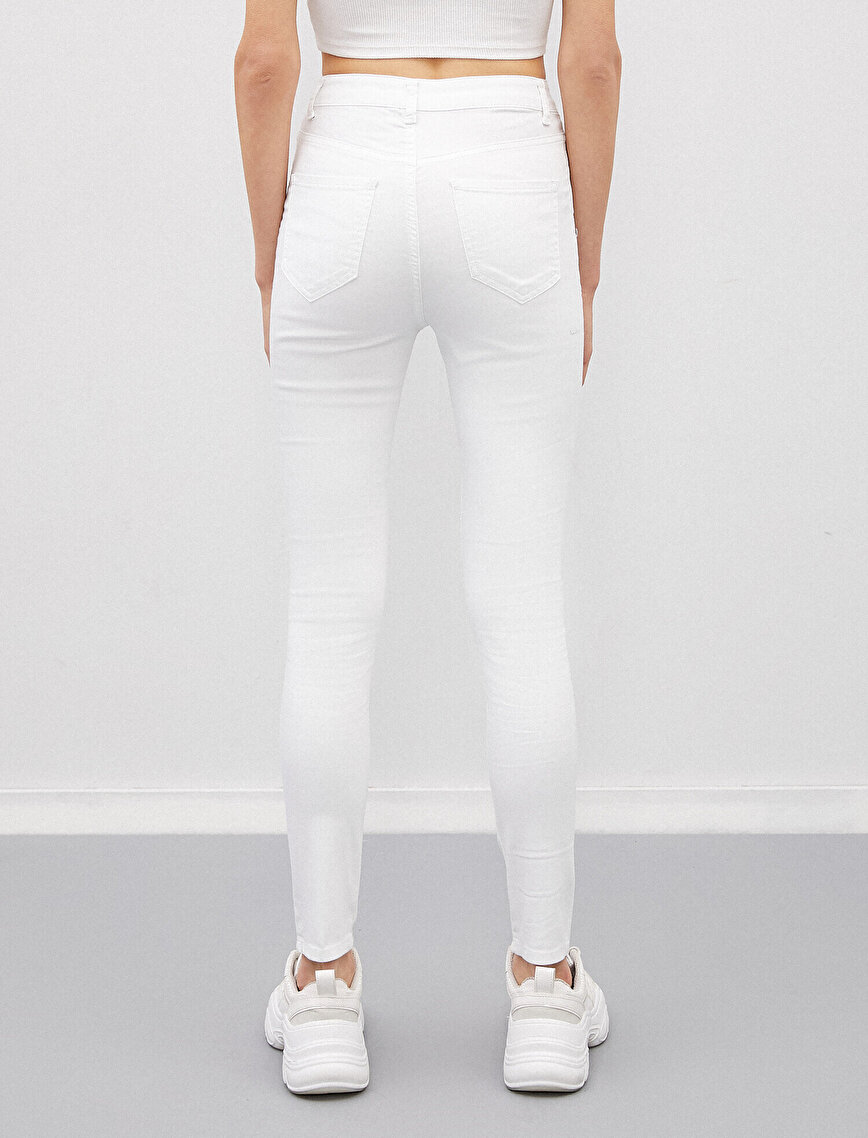 Taş Detaylı Pantolon