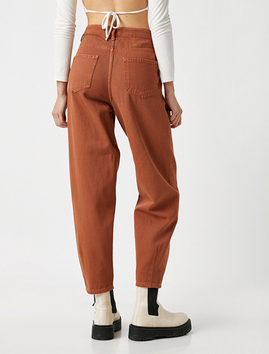 High Waist Pleated Pants