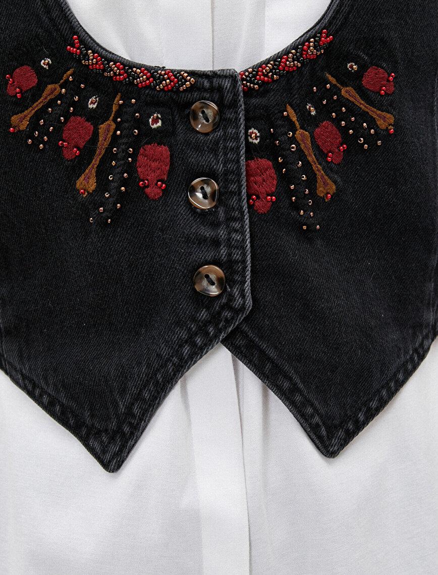 El Emeği Jean Ceket