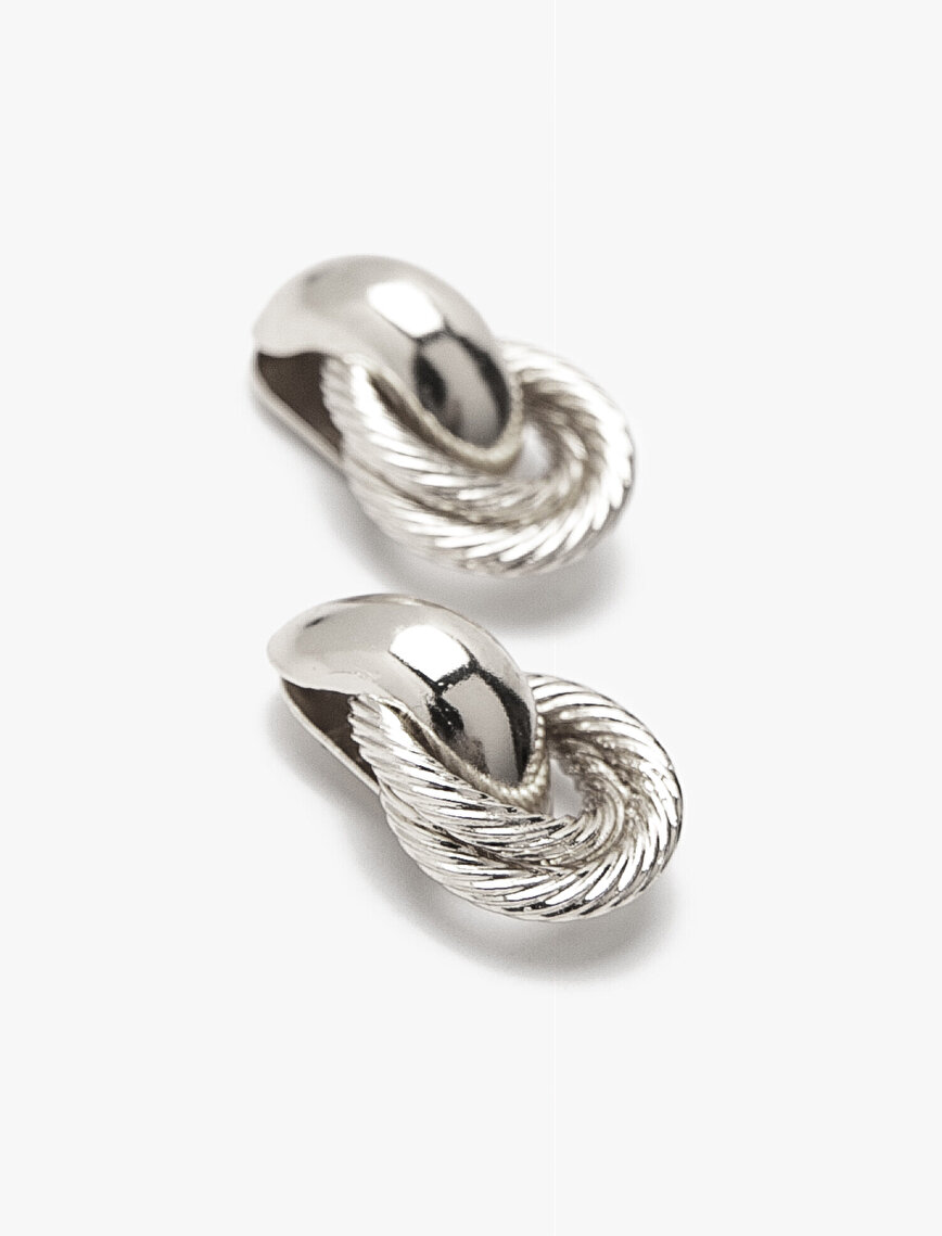 Metallic Earring