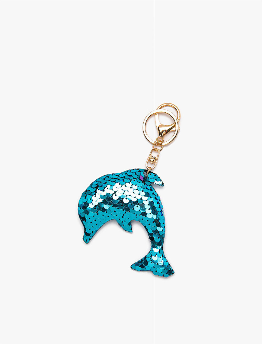 Sequinned Keychain