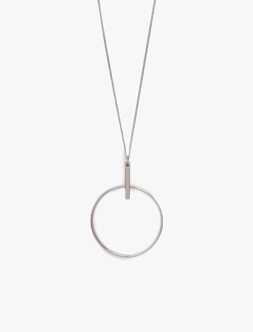 Long Hoop Necklace
