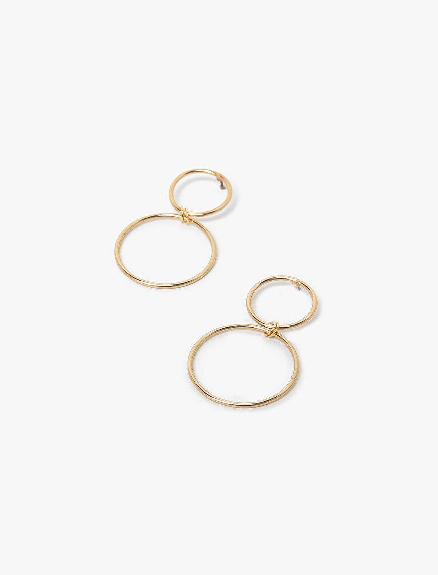 Metallic Earring