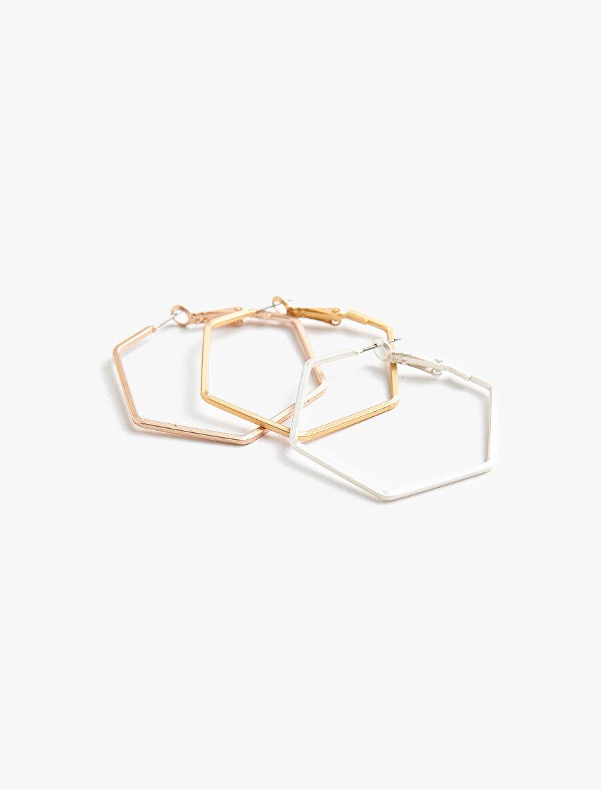Geometrik Küpe Seti