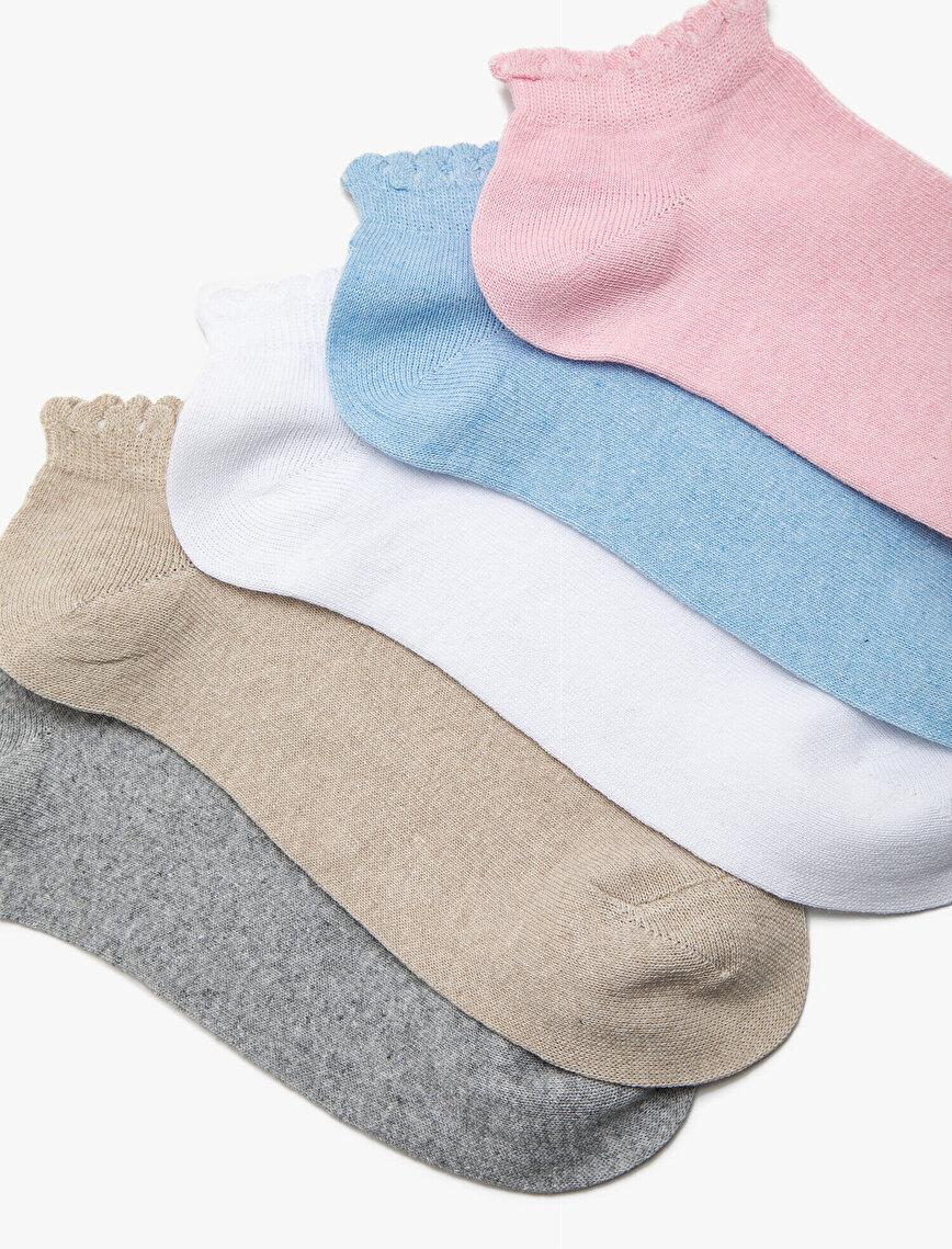5'li Pack Woman Socks