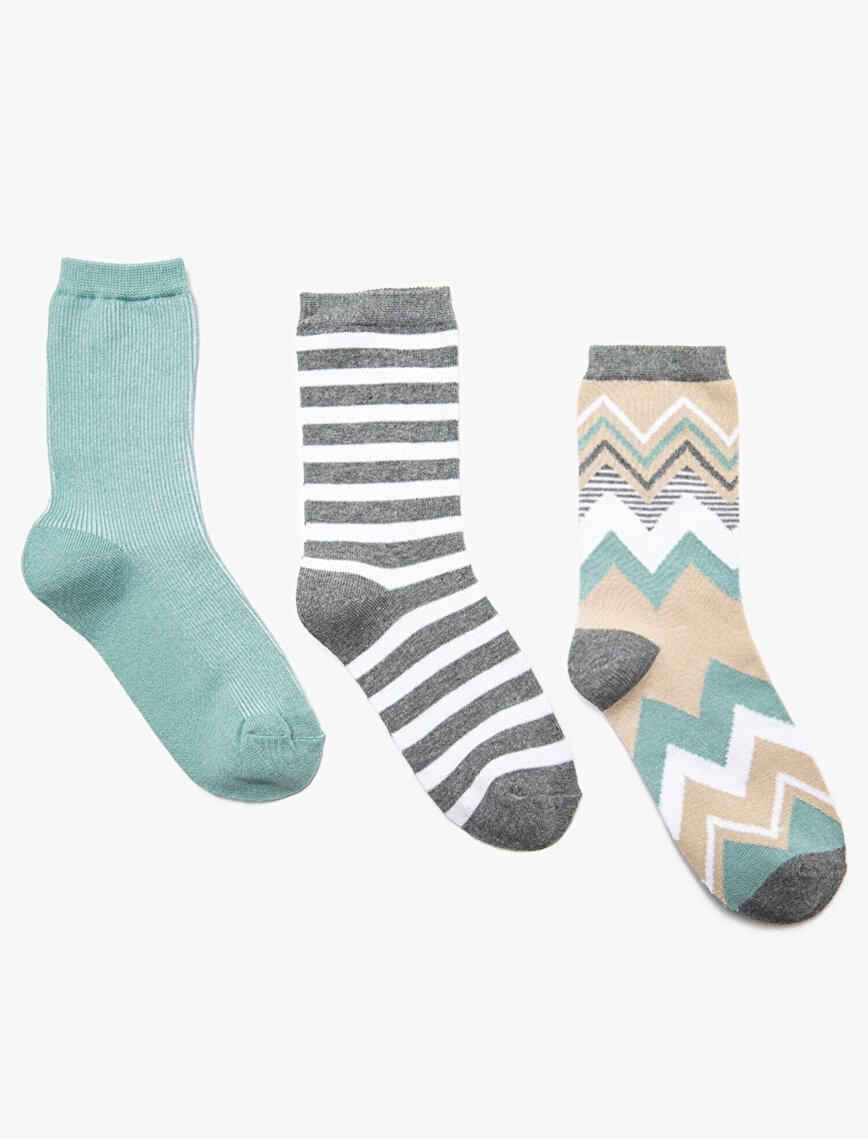 3 Pack Woman Socks