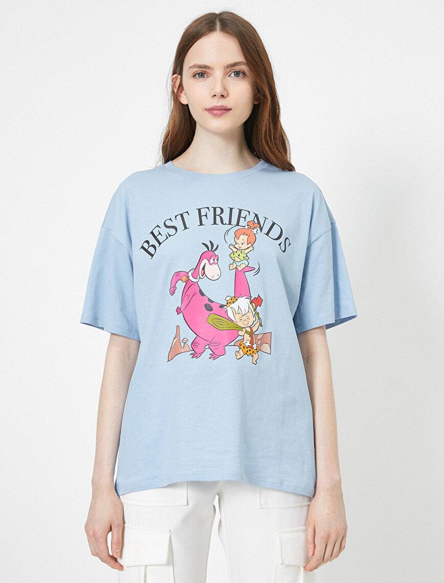 The Flintstones Baskılı Lisanslı Tişört