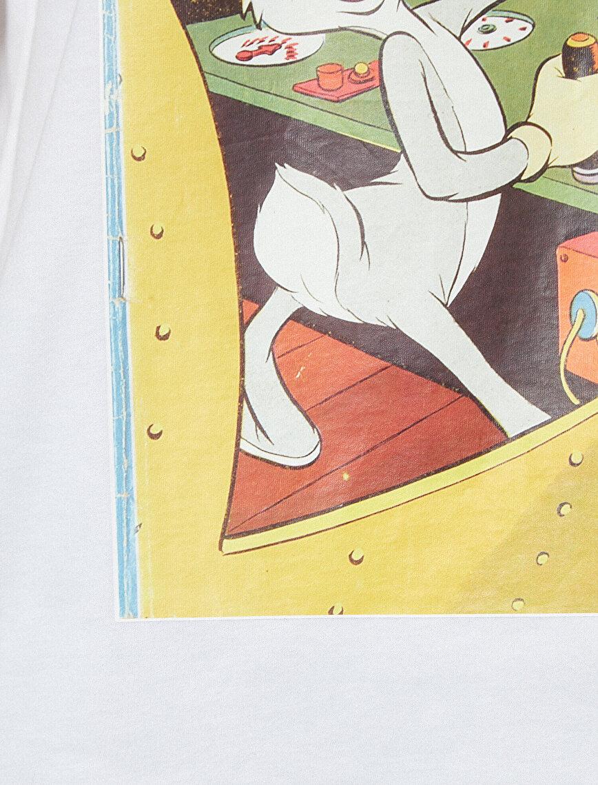 Bugs Bunny Detaylı T-Shirt