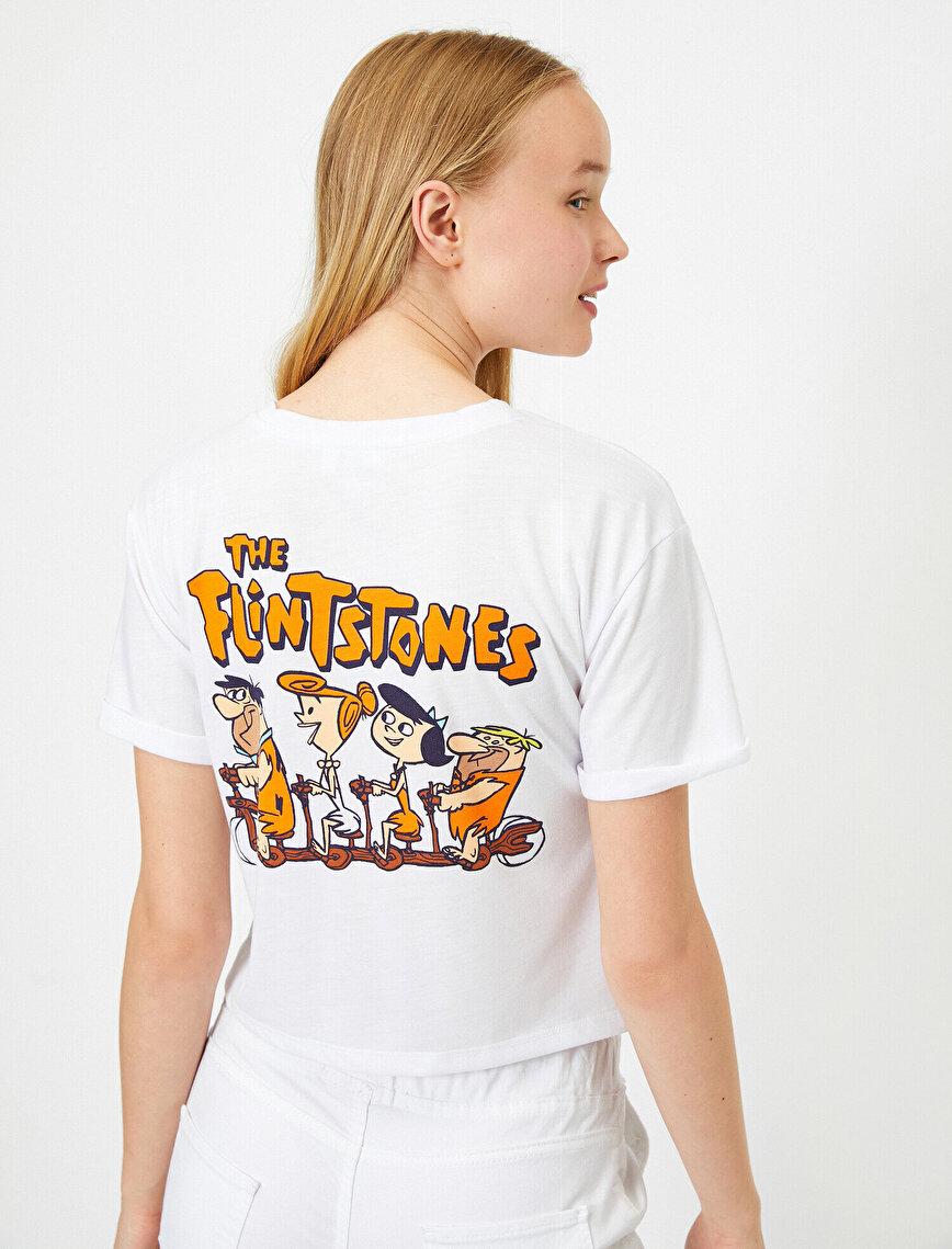 The Flintstones Baskılı Lisanslı Kısa Kollu Tişört