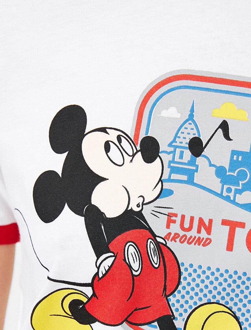 Disney Lisanslı Pamuklu Kısa Kollu Tişört