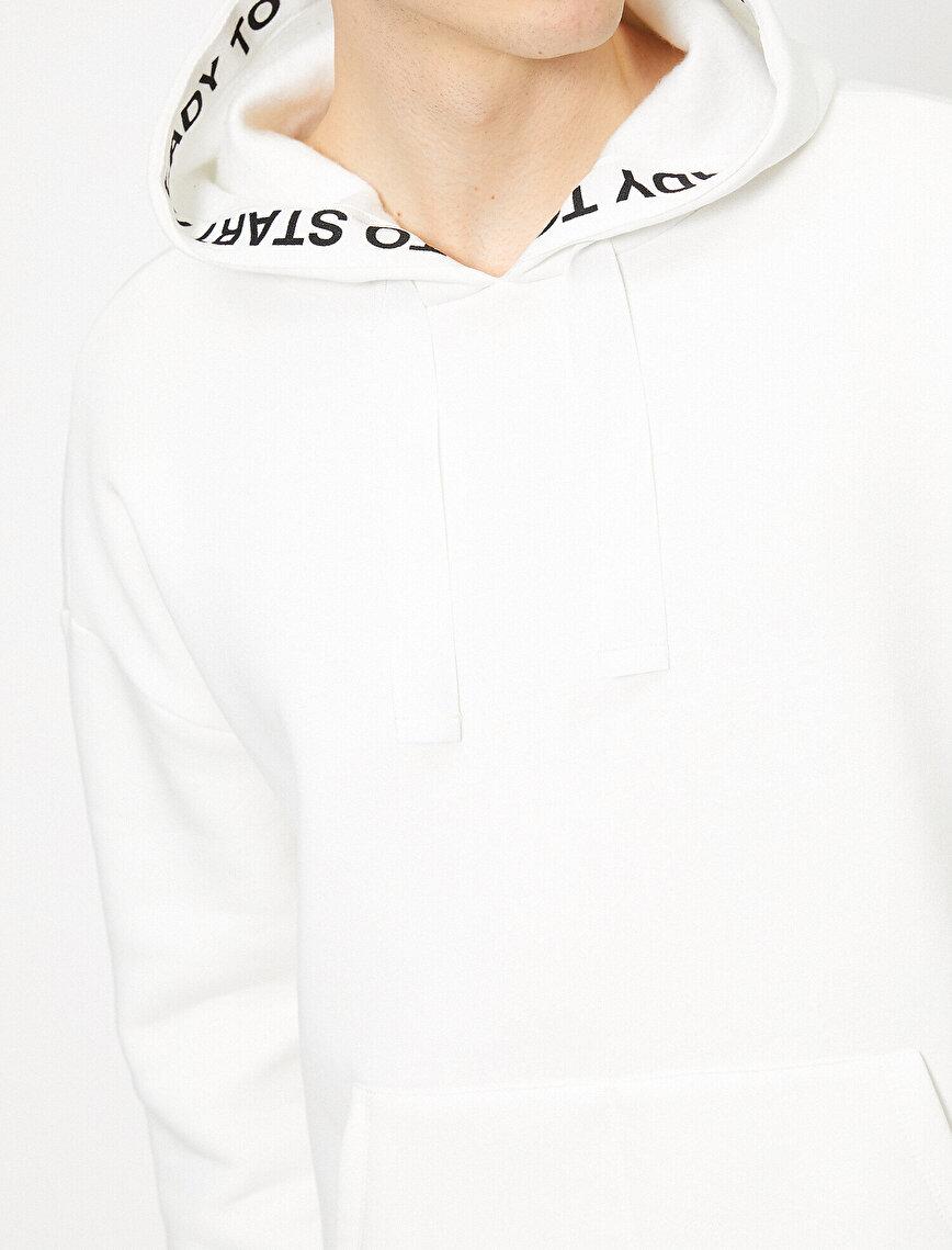 Kapüşon Detaylı Sweatshirt