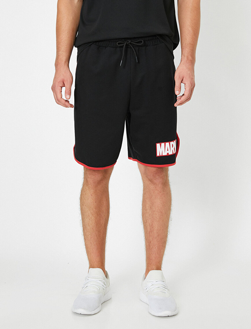 Marvel Licensed Shorts With Pockets