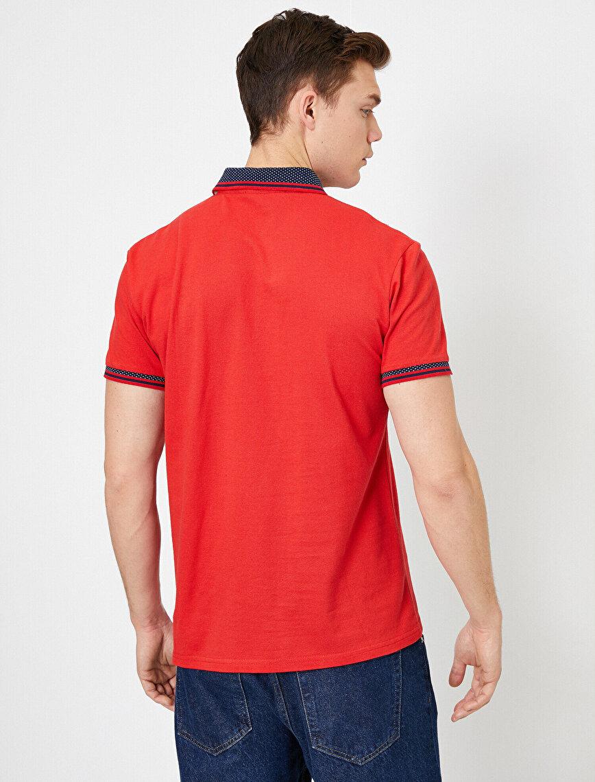 Polo Yaka Pike Kumaş Slim Fit Tişört