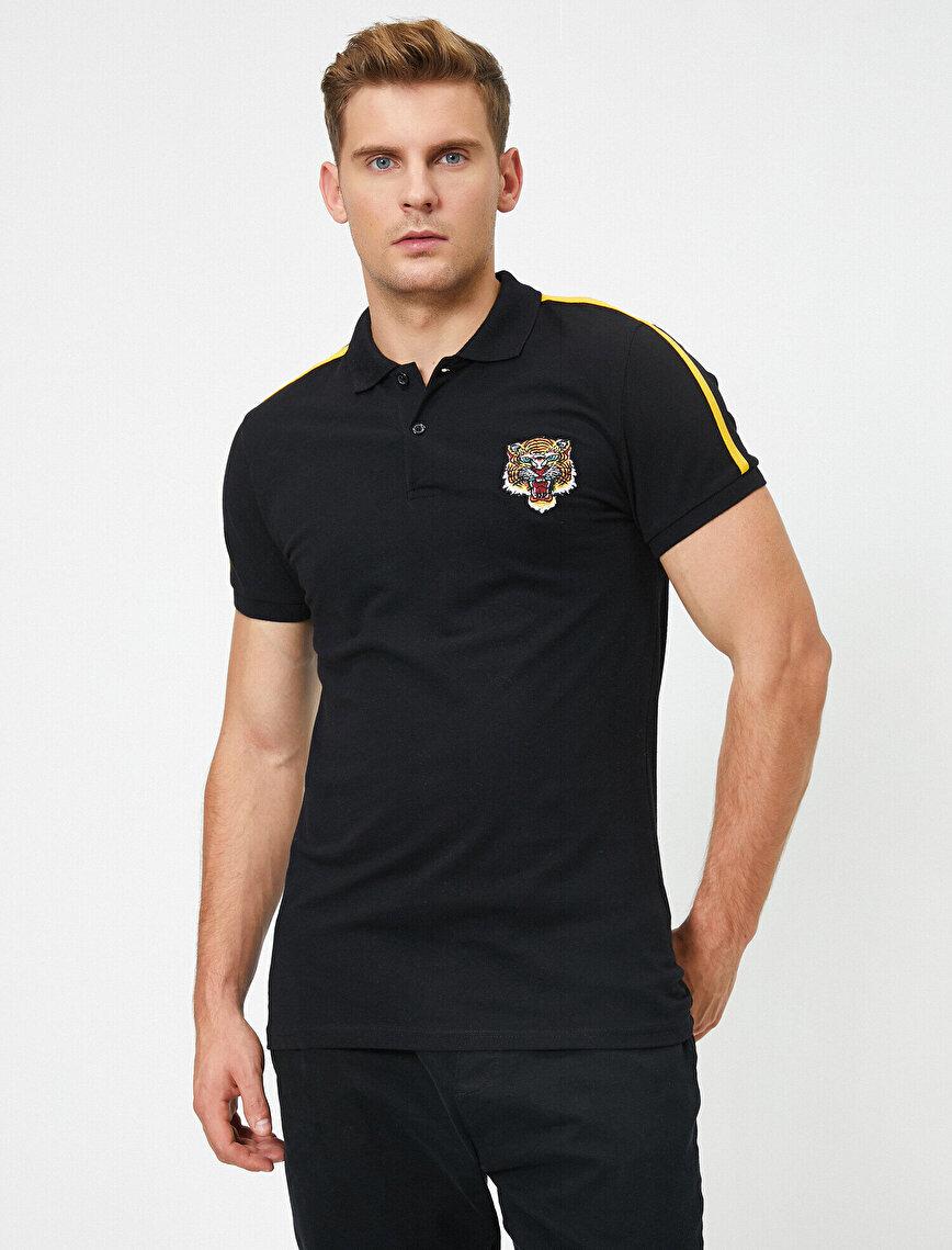 Cotton Short Sleeve Polo T-Shirt