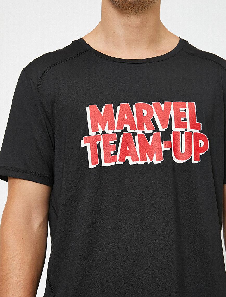 Marvel Lisanslı Baskılı Tişört