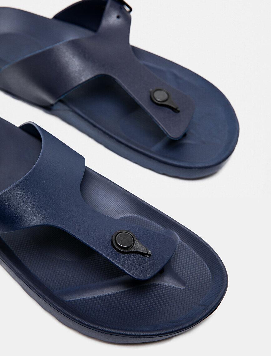 Buckled Flip Flops