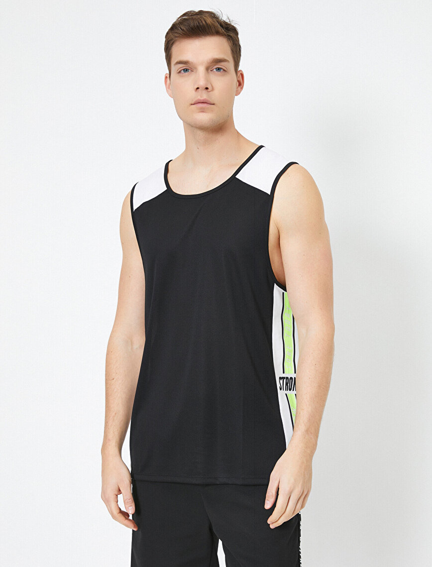 Letter Printed Tank Top