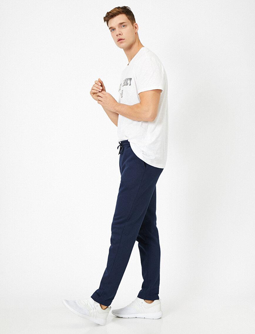 Slim Fit Pocket Detailed Jogging Pants