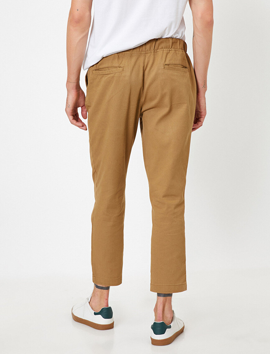 Lace Up Chino Trousers