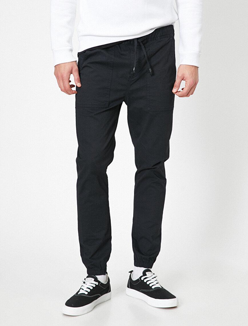 Tie Waistr Trousers