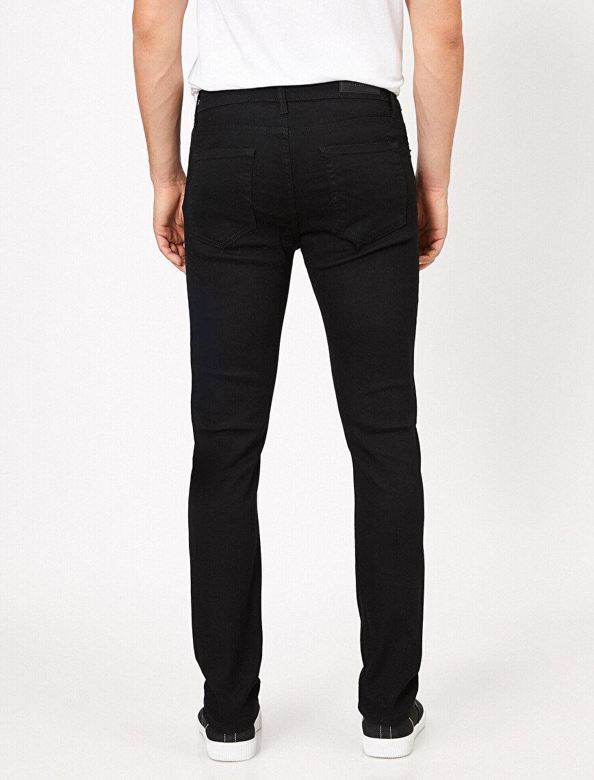 Slim Fit Kot Pantolon - Brad Jean