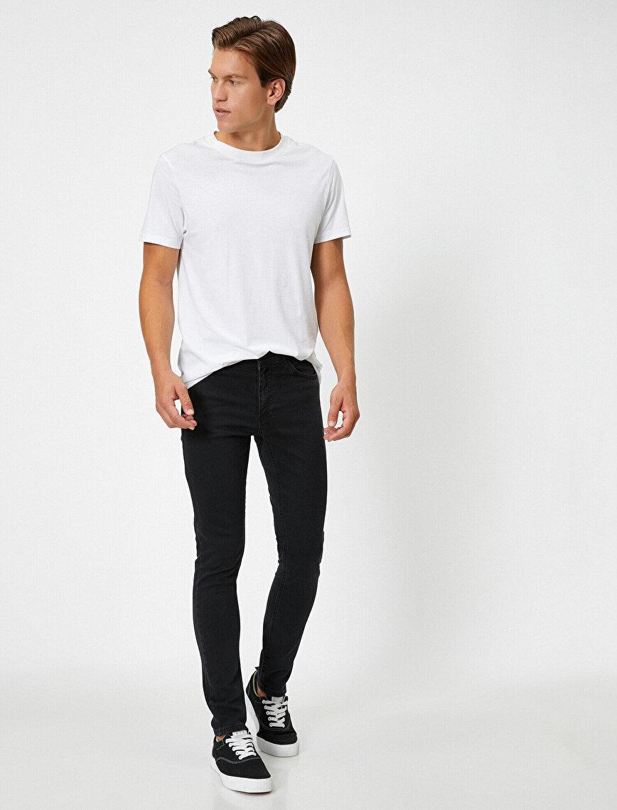 Michael Skinny Fit Jean Pantolon