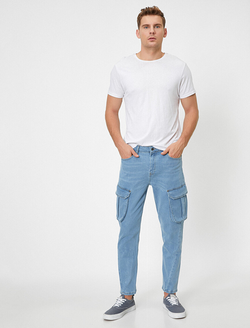 Cep Detaylı Jean